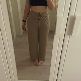 Ice Silk Wide Leg Breathable Pants photo review